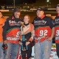 Molly Helmuth Races to First Late Model Podium Finish